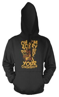 Oh I'm Sorry Did I Break Your Concentration Pulp Fiction Kids Hoodie
