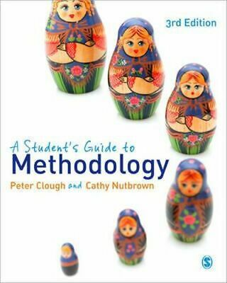 NEW A Student's Guide to Methodology By Peter Clough Paperback Free Shipping