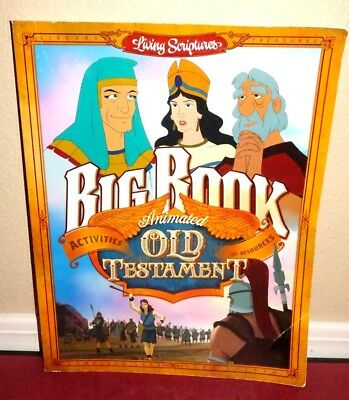 Living Scriptures Big Book Coloring Activity Book Old