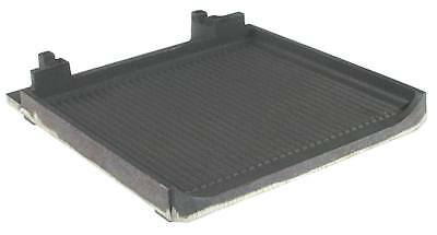 Scooter Grill Cast Iron Plate for Folding Grill Savoye Grooved Ep Bottom