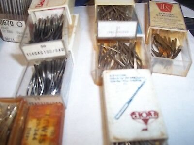 Lot of  commercial or industrial Sewing Machine Needles Various makes