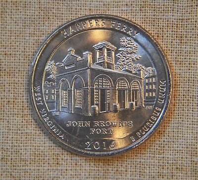 2016-P Harpers Ferry Atb National Park Quarter - Uncirculated - Single