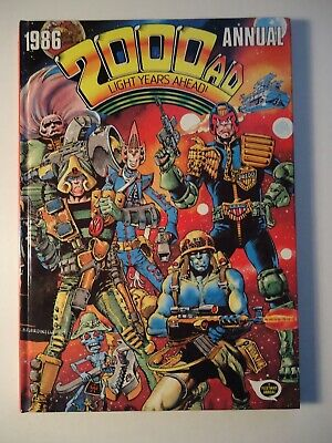 2000AD ANNUAL 1986 Hardcover UK edition / Fleetway *Super condition*