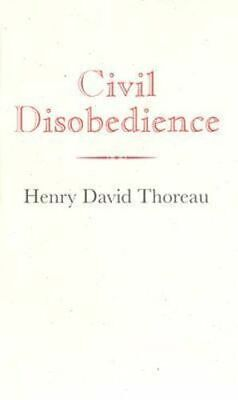 NEW Civil Disobedience By Henry Thoreau Hardcover Free Shipping