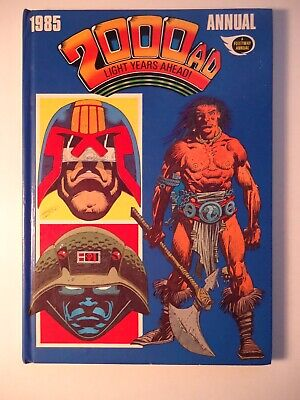 2000AD ANNUAL 1985 Hardcover UK edition / Fleetway *with RARE ALAN MOORE story*