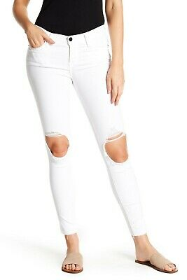 Blanc Blanc Frame New With Tags Le Skinny De Jeanne Jeans