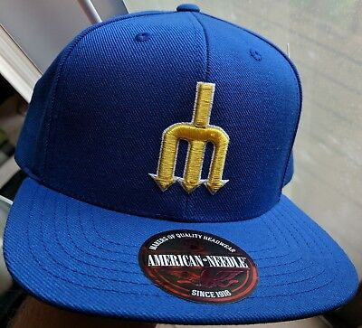 huge discount 7575d beec3 SEATTLE MARINERS American Needle Cooperstown Collection Hat Snapback Royal  NWT