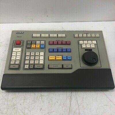Sony Bve-900 Professional Video Editing System Controller Automatic Control Unit