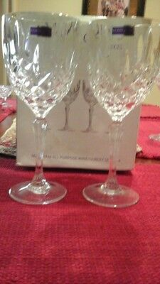 Marquis by Waterford Markham all purpose Wine/Goblets -Set Of 4