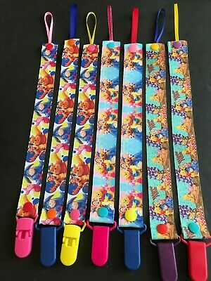 Handmade Pacifier Holder - Disney - Winnie the Pooh and Friends
