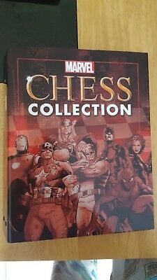 Marvel Chess Collection binders x2 w/pegs