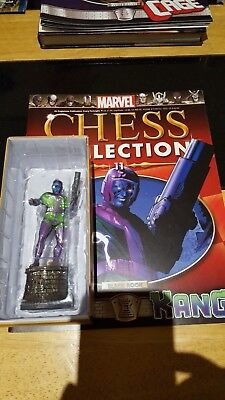 Marvel Chess Collection #11 Kang w/magazine