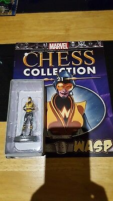 Marvel Chess Collection #21 Wasp w/magazine