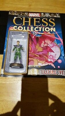 Marvel Chess Collection #32 Molecule Man w/magazine