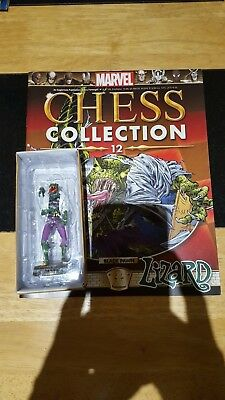 Marvel Chess Collection #12 Lizard w/magazine