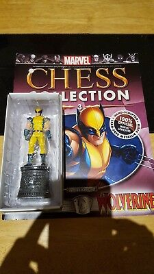Marvel Chess Collection #3 Wolverine w/magazine