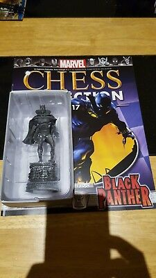 Marvel Chess Collection #17 Black Panther w/magazine