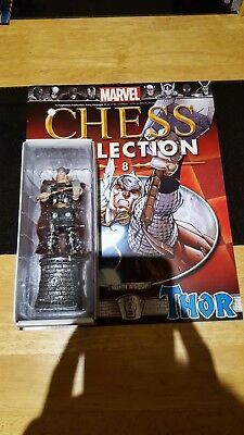 Marvel Chess Collection #8 Thor w/magazine