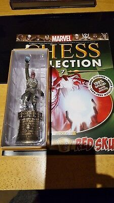 Marvel Chess Collection #7 Red Skull w/magazine