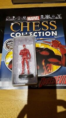 Marvel Chess Collection #5 Daredevil w/magazine