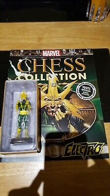 Marvel Chess Collection #13 Electro w/magazine