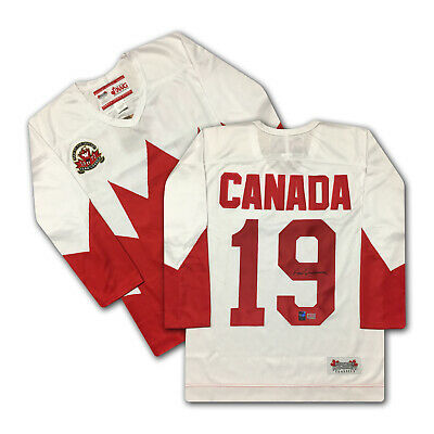 Paul Henderson Team Canada Signed 1972 White Jersey - Summit Series