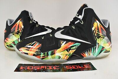 new arrival 9a5b4 af52f Nike Lebron 11 Everglades Style   616175-006 Size 13