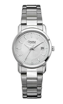 Caravelle New York Women's Quartz  Silver-Tone Band Watch 43M102