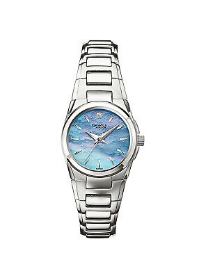 Caravelle New York Women's Quartz  Silver-Tone Band Watch 43P000