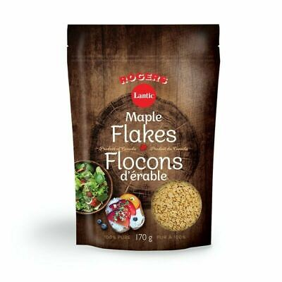 Rogers 100% Pure Maple Flakes, 170g/6oz. (Imported from Canada)