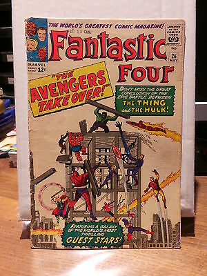 Fantastic Four Vol.1 # 26 - May 1964 - Comic VO US - Marvel Comics