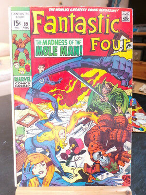 Fantastic Four Vol. 1 #89 - Marvel Comics VO US