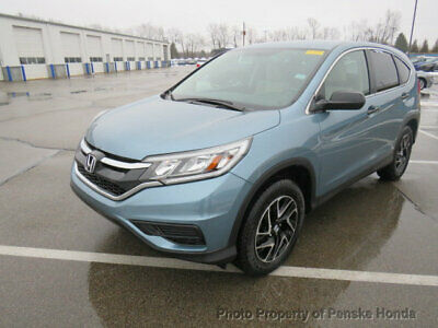 2016 Honda CR-V 2WD 5dr SE 2WD 5dr SE 4 dr SUV CVT Gasoline 4 Cyl Mountain Air Metallic