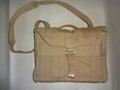 WWII British P-37 Valise Bag For Officers With Carry Strap dF979