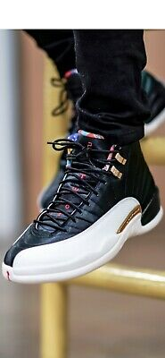 2019 Air Jordan 12 Retro CNY CHINESE NEW YEAR Give Me An Offer (909)-637 7346