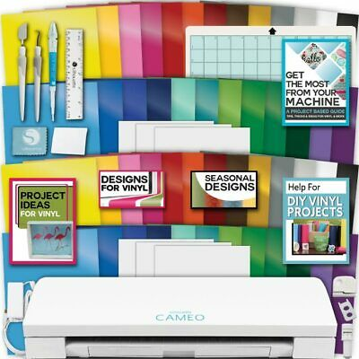 Silhouette Cameo Machine 3 Bundle Jumbo Bundle 50 Sheet Oracal Vinyl Tool Design