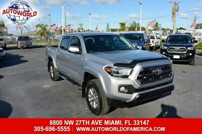 2017 Tacoma Double Cab SR5 2017 Toyota Tacoma 4WD Double Cab SR5  3.5L 6 Cylinders Automatic-Branded Title