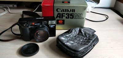 canon af35ml film camera with original packaging 35mm