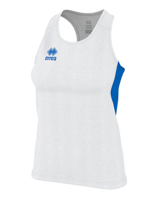 Camiseta de Triantes Running Mujer Smith Camiseta Ad - Blanco Azul