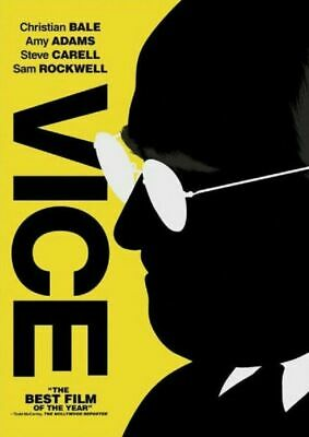 Vice Dvd (Dvd 2018) (Dvd 2019) Free Ship Usa