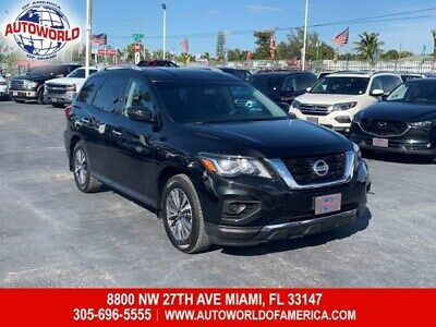 2017 Pathfinder S 2017 Nissan Pathfinder S  3.5L 6 Cylinders Automatic-Branded Title