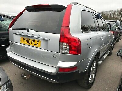 """10 Volvo Xc90 2.4 D5 185 Se G/t- 7 Seats, 1Owner, 18""""alloys, Leather, 7 Stamps"""