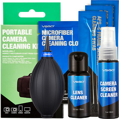VSGO DKL-7 DSLR Lens Cleaning Kit for Digital Camera Lens Filter Sensor Cleaning