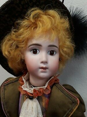 Reproduction Jumeau automaton Doll - plays - oh Christmas tree - wind up