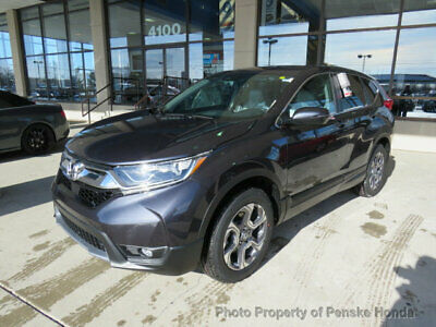 2019 Honda CR-V EX-L AWD with Accessories EX-L AWD with Accessories New 4 dr SUV CVT Gasoline 1.5L 4 Cyl Gunmetal Metallic