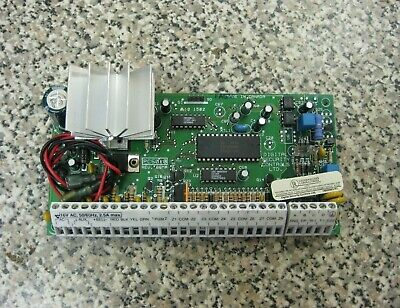 DSC PC5010 Power 832 8-Zone Security Alarm Control Panel Circuit Board Only Used