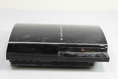 Sony Playstation 3 PS3 CECHA01 60GB Black Console Firmware 4.55