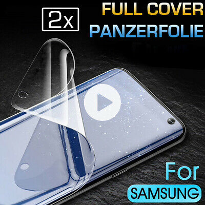 2x Samsung Galaxy S10 S10 Plus S10e Full Cover Panzerfolie Display Schutzfolie