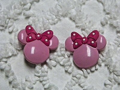 Croc Clog 3D Pink Minnie Mouse Plug Shoe Charms Will Also Fit Jibitz,Croc  C 793