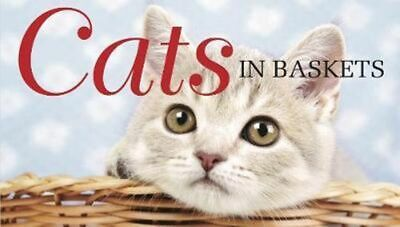 NEW Cats in Baskets By Kat Scratching Hardcover Free Shipping